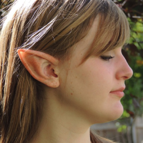 Large Silicone Elf Ears